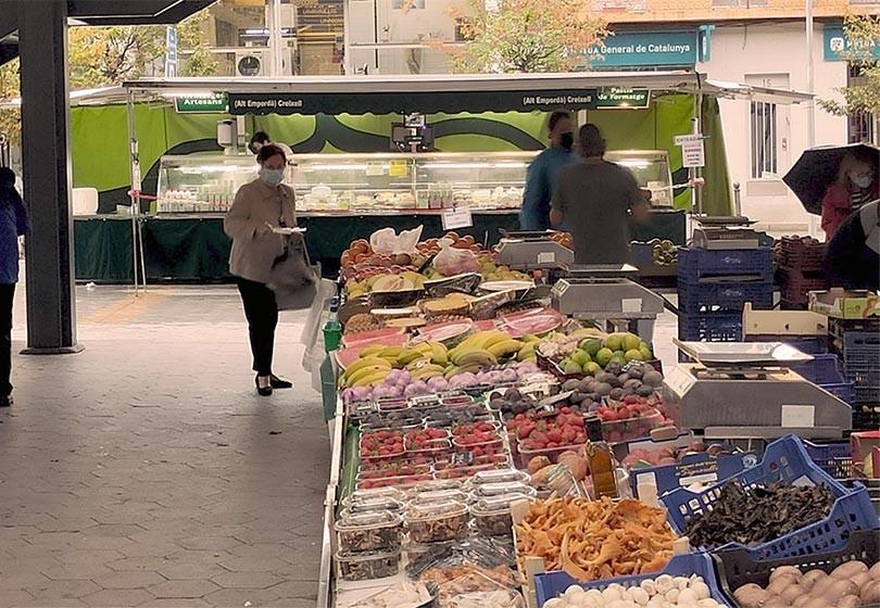 Els valors d'anar al mercat local